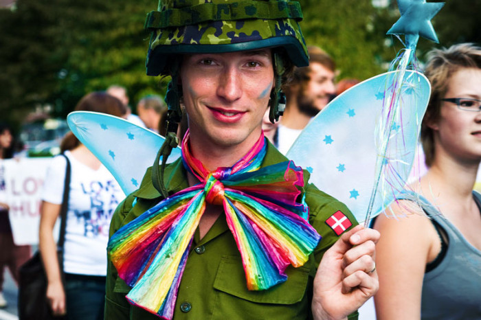swedish army gay pride highest officerranking