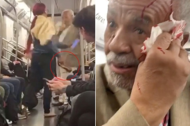 Transgender-Breaks-79-Year-Old-Mans-Head-With-High-Heel-Shoe-For-Preaching-Inside-Train